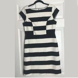 The Limited Striped Sheath Career Work Dress